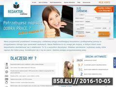 Miniaturka domeny www.redaktor-online.pl
