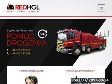 Zrzut strony Pomoc drogowa 24 Wrocław