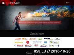 Miniaturka domeny www.redpanda.pl