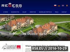 Miniaturka domeny regess.eu