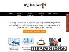 Miniaturka domeny regulaminowo.pl