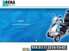 Miniaturka Elektryczne wózki inwalidzkie (www.reha-activ.pl)