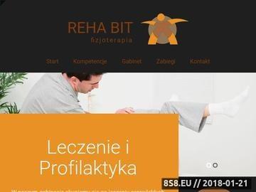 Zrzut strony REHA-BIT Rehabilitacja Koszalin