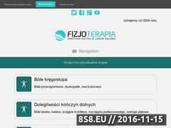 Miniaturka domeny www.rehabilitacja-bielsko.pl