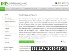 Thumbnail of Rehabilitacja Kraków Website