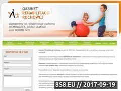 Miniaturka domeny www.rehabilitacja-ruchowa.pl