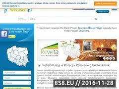 Miniaturka domeny www.rehabilitacjawpolsce.pl