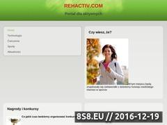 Miniaturka domeny www.rehactiv.com