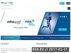 Miniaturka domeny www.rehasport.pl