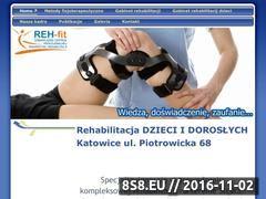 Miniaturka domeny www.rehfit.pl
