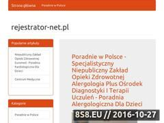 Miniaturka domeny www.rejestrator-net.pl