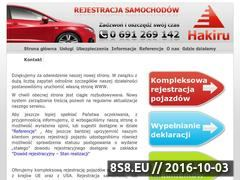 Miniaturka domeny www.rejestrowanieaut.pl