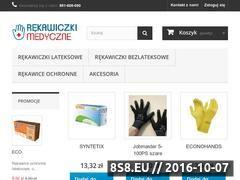 Miniaturka domeny rekawiczkimedyczne.pl