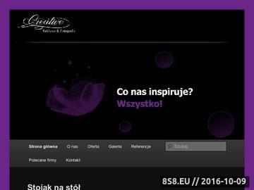 Zrzut strony Projekt, druk, reklama - Skoczów, Cieszyn, Bielsko Biała