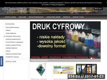 Zrzut strony Centrum reklamy wizualnej - słodycze reklamowe