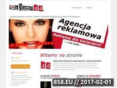 Miniaturka domeny www.reklama44.pl