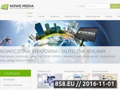 Miniaturka domeny www.reklamanatelebimach.com