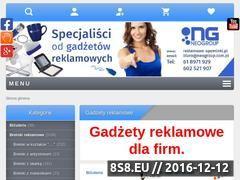 Miniaturka domeny www.reklamowe-upominki.pl