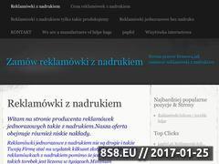 Miniaturka domeny reklamowki.wordpress.com