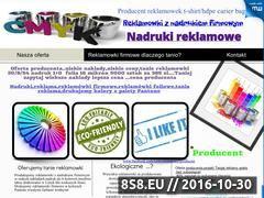 Miniaturka domeny www.reklamowkihd.info