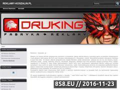 Miniaturka domeny reklamy-koszalin.pl