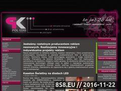 Miniaturka domeny reklamyswietlne.pl