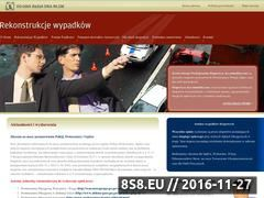 Miniaturka domeny www.rekonstrukcjewypadkow.pl