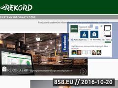 Miniaturka domeny www.rekord.com.pl