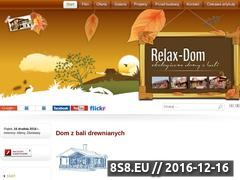 Miniaturka domeny relax-dom.pl