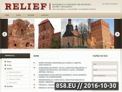 Miniaturka domeny relief-konserwacja.pl