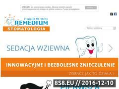 Miniaturka domeny remedium-stomatologia.pl