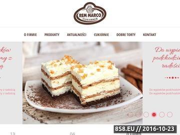 Zrzut strony Szeroki wybór tortów, ciast pieczonych i deserowych