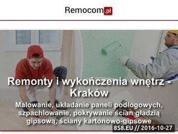 Zrzut strony Usługi remontowo budowlane i transportowe w Krakowie