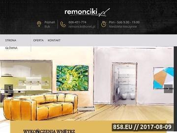 Zrzut strony Wykończenia wnętrz Poznań