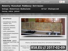 Miniaturka domeny remontowac.ostrowiec.pl