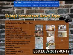 Miniaturka domeny remontujemy.cba.pl