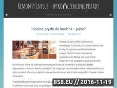 Miniaturka domeny www.remonty-inplus.pl