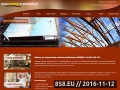 Miniaturka domeny www.remonty-w-poznaniu.pl