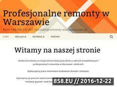 Miniaturka domeny remonty-warszawa.waw.pl