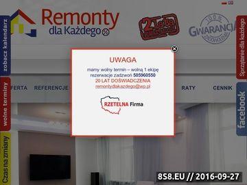 Zrzut strony Remonty mieszkań Gdynia, usługi remontowe Trójmiasto