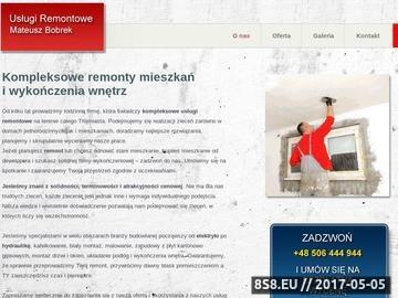 Zrzut strony Usługi remontowe Gdańsk, Sopot i Gdynia