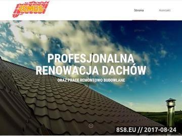 Zrzut strony Dekarz Warszawa