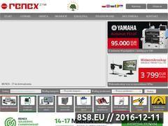 Miniaturka domeny www.renex.com.pl