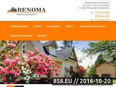 Miniaturka domeny www.renomanieruchomosci.com