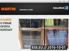 Miniaturka domeny www.renowacja-martin.pl