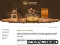 Miniaturka domeny www.renowacjameblistylowych.pl