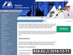 Miniaturka domeny www.rentbud.pl