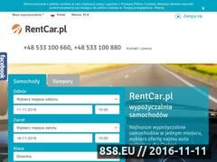 Miniaturka domeny www.rentcar.pl