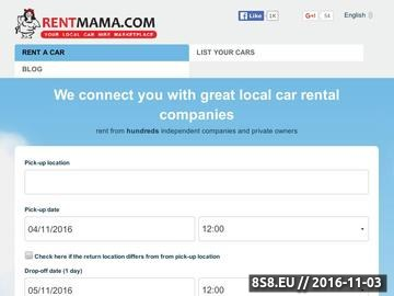 Zrzut strony Najlepsze oferty wynajmu samochodów