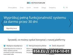 Miniaturka domeny www.repositorium.pl
